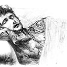 Will Graham asleep by Rendes