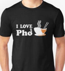 I Love Pho Unisex T-Shirt