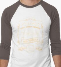 60th Birthday Gift Gold Vintage 1958 Aged Perfectly Men's Baseball ¾ T-Shirt