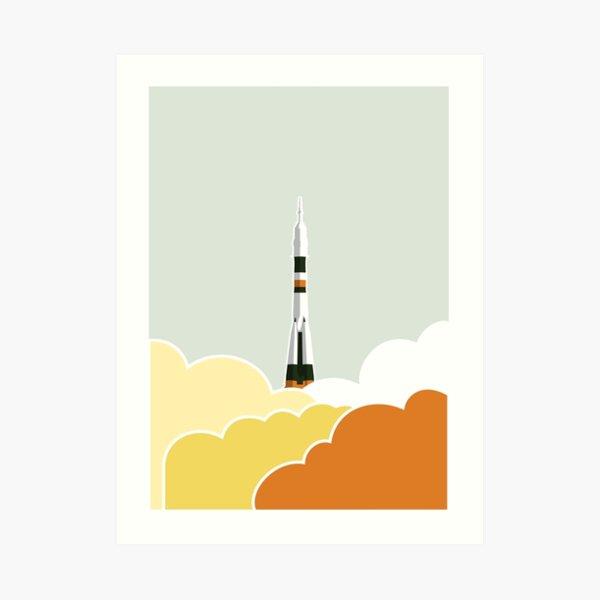 Space: Lift Off Art Print