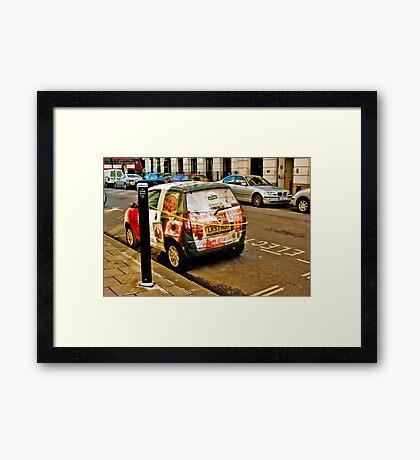 Electric Avenue Framed Print