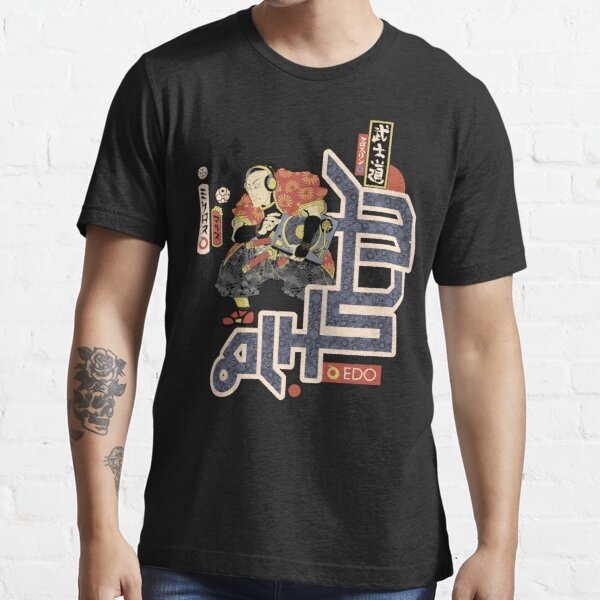 TURNTABLE SAMURAI Essential T-Shirt