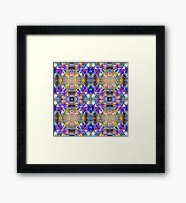 Symmetrical Fantasy Abstract Framed Print