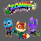 Adorable Zombie Killers by Todd3point0