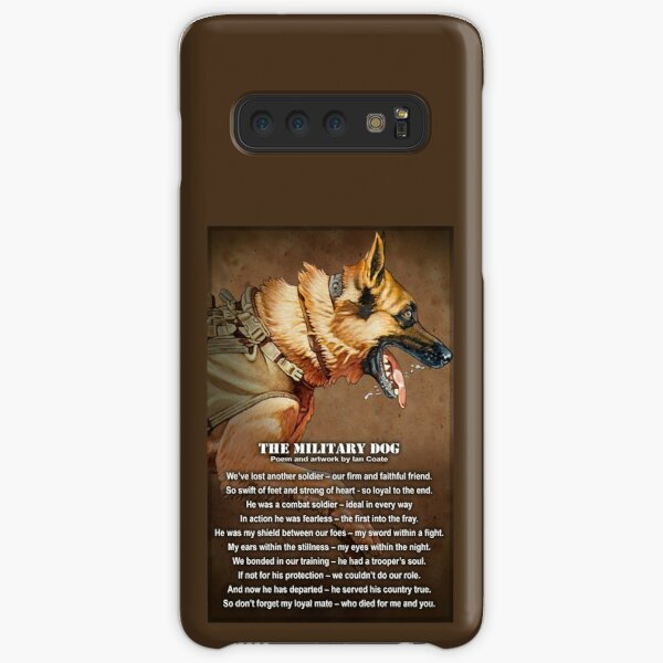 The Military Dog Samsung Galaxy Snap Case