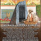 My Mate - Lest we forget by iancoate
