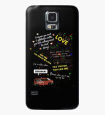 Skam quotes Case/Skin for Samsung Galaxy