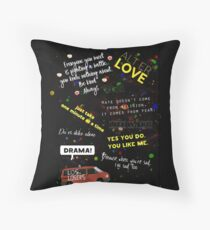 Skam quotes Throw Pillow