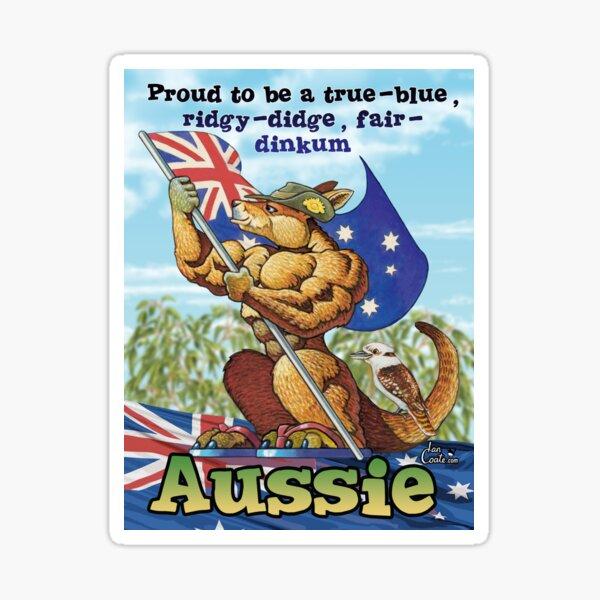 Proud to be a Aussie Sticker