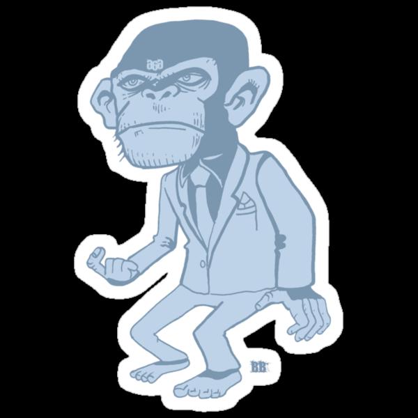 evil monkey pt 1 by eyespyeye