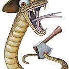 Mad as a cut snake by iancoate