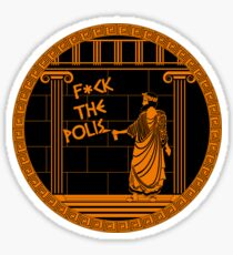 F*ck the Polis Sticker