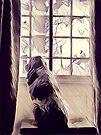 Italian Spinone Window Watcher  by heidiannemorris