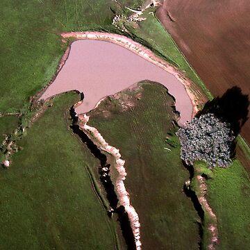 Benalla Landscape : aerial photograph by rozmcq
