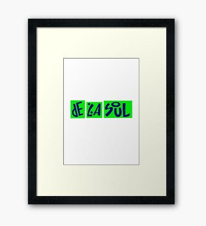 De La Soul Buhloone Mindstate Framed Print