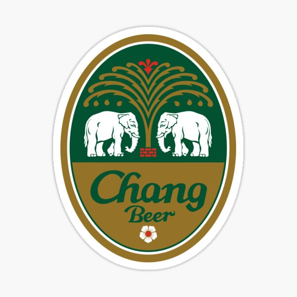 Chang Beer Sticker
