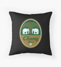 Chang Beer Throw Pillow
