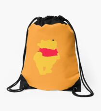 Teddy Bear Drawstring Bag
