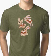 Hot Cross Bunnies Tri-blend T-Shirt