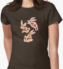 Hot Cross Bunnies Women's Fitted T-Shirt