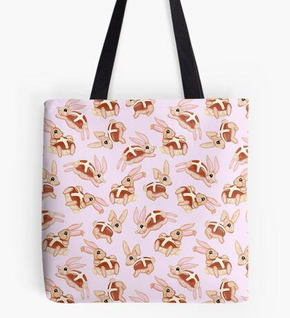 Hot Cross Bunnies Tote Bag