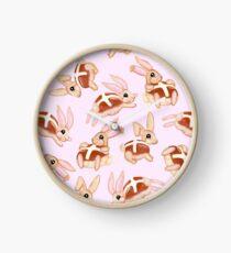 Hot Cross Bunnies Clock