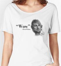 Camiseta ancha para mujer Guau