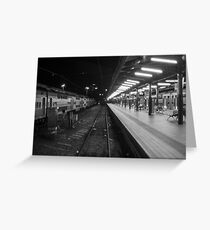 Central Station, Sydney. Greeting Card