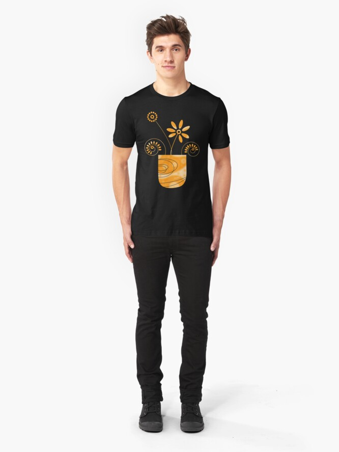 Alternate view of Little Herb Garden Slim Fit T-Shirt