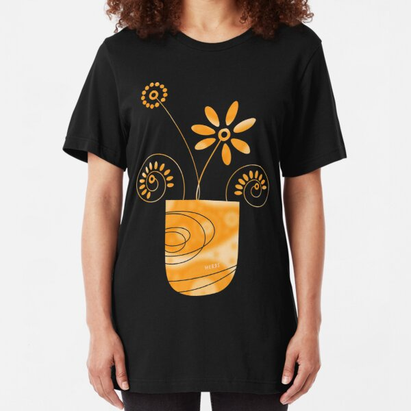 Little Herb Garden Slim Fit T-Shirt