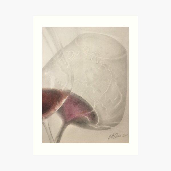 In Vino Veritas Art Print