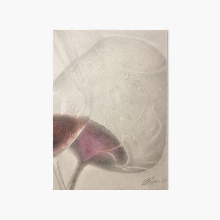 In Vino Veritas Art Board Print