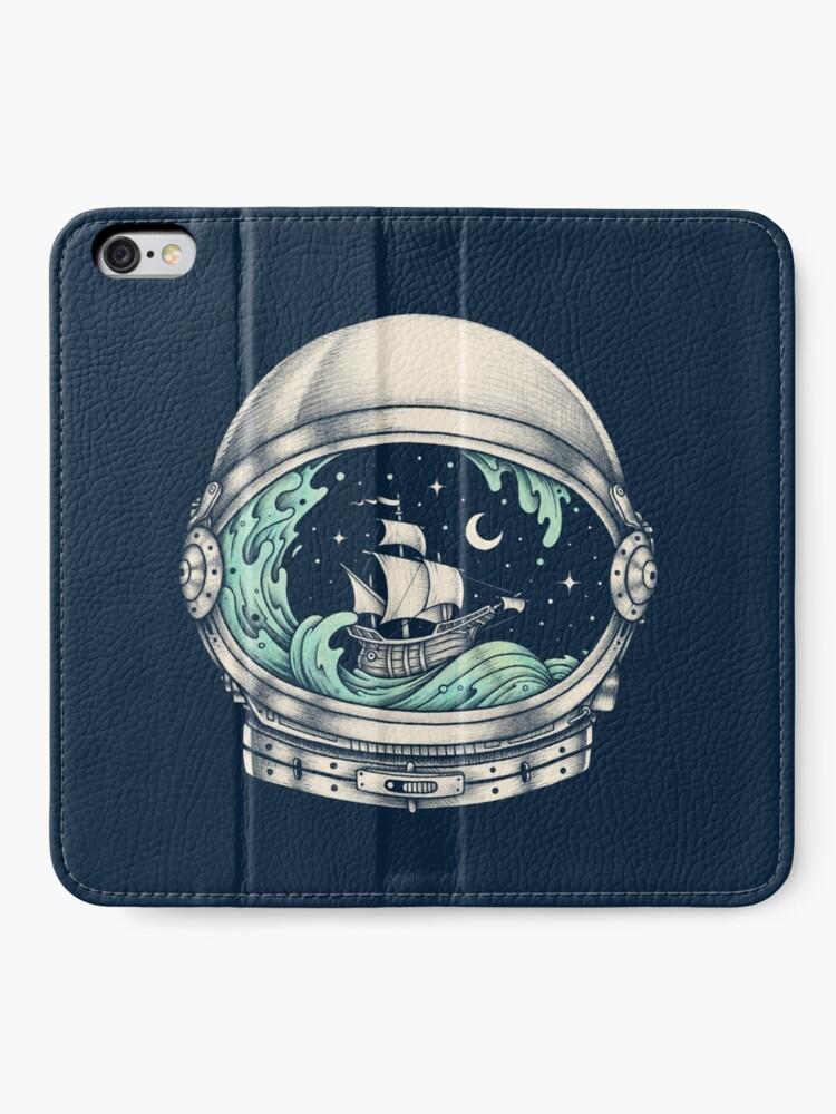 Alternate view of Spaceship iPhone Wallet