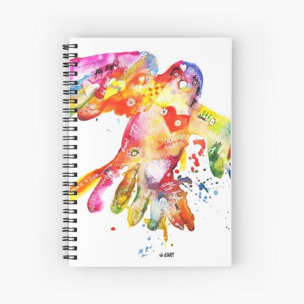 Love Bird Spiral Notebook