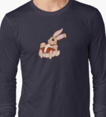 Hot Cross Bunnies - Navy Long Sleeve T-Shirt