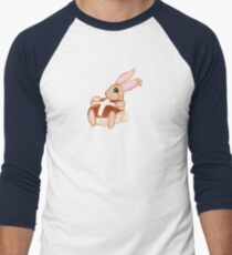 Hot Cross Bunnies - Navy Men's Baseball ¾ T-Shirt
