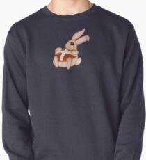 Hot Cross Bunnies - Navy Pullover