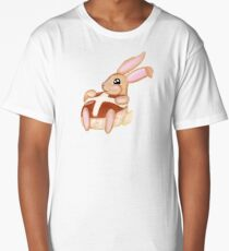 Hot Cross Bunnies - Navy Long T-Shirt