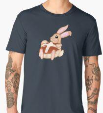 Hot Cross Bunnies - Navy Men's Premium T-Shirt