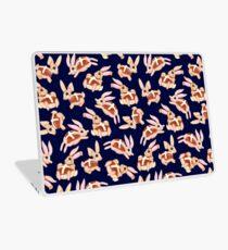 Hot Cross Bunnies - Navy Laptop Skin