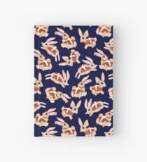 Hot Cross Bunnies - Navy Hardcover Journal