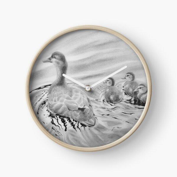 Duck family Clock