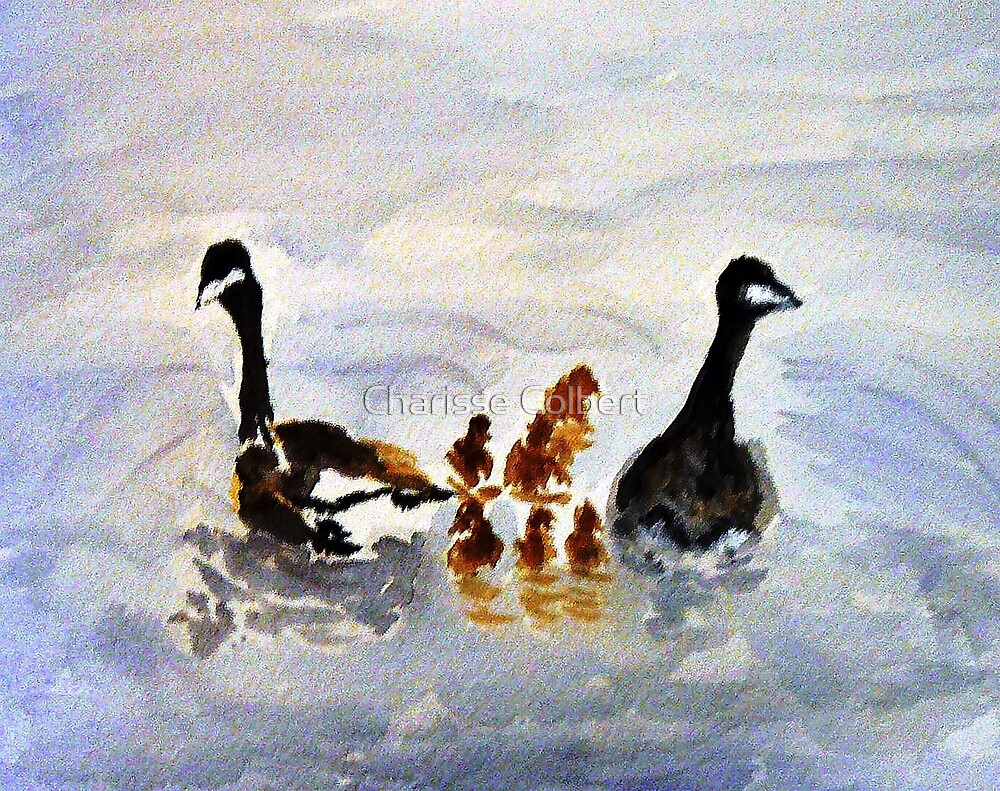 At the Pond by Charisse Colbert