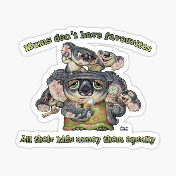 Koala Mum - Favourites Sticker