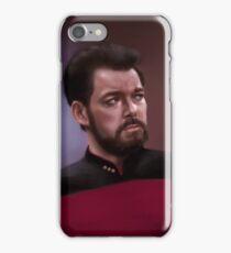 Star Trek: cmd. Riker iPhone Case/Skin