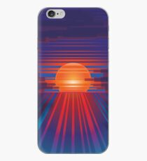 Barcode Sunset iPhone Case