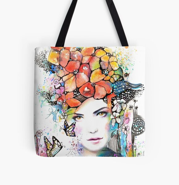 Spring is comming All Over Print Tote Bag