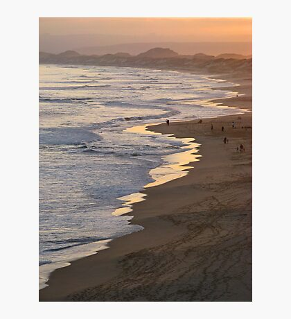 Sunset stroll Photographic Print