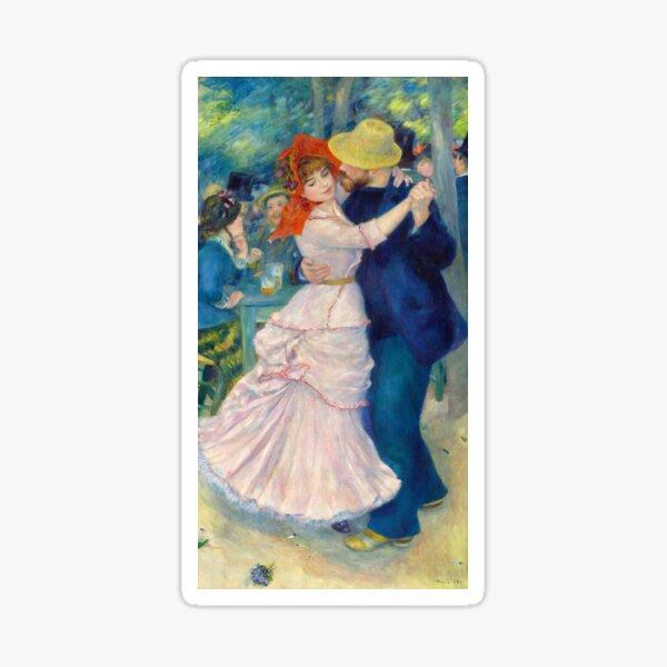 Dance at Bougival - Pierre Auguste Renoir Sticker