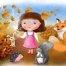 Autumn Leaves by DreyaNovak